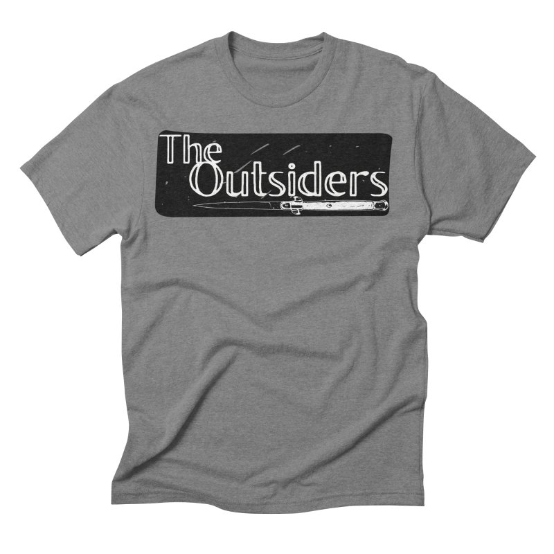 tHE oUTSIDERS Men's Triblend T-Shirt by Wild Roots Artist Shop