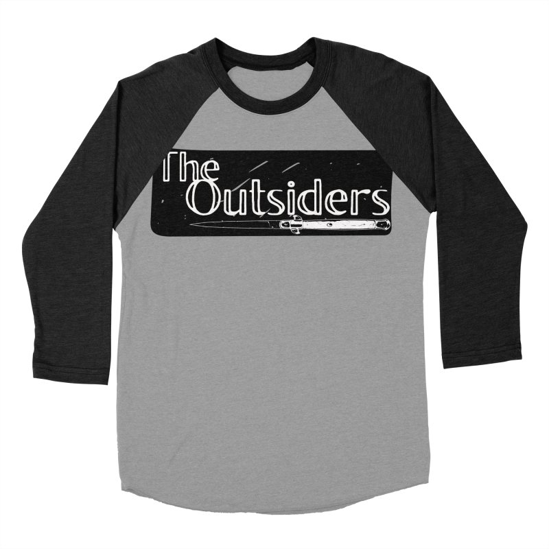 tHE oUTSIDERS Women's Baseball Triblend T-Shirt by Wild Roots Artist Shop