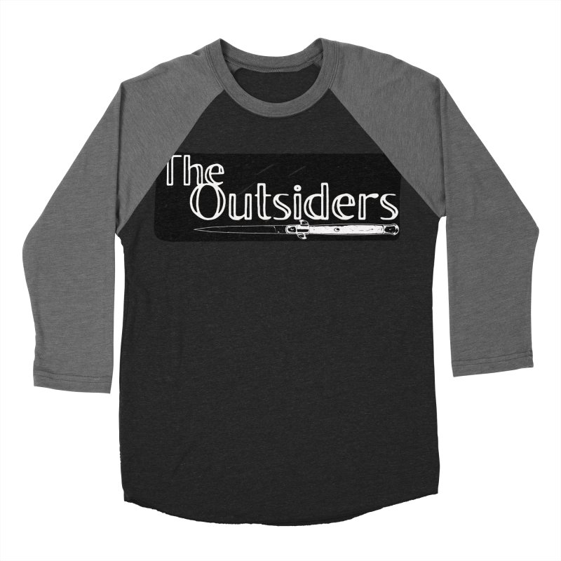 tHE oUTSIDERS Men's Baseball Triblend Longsleeve T-Shirt by Wild Roots Artist Shop