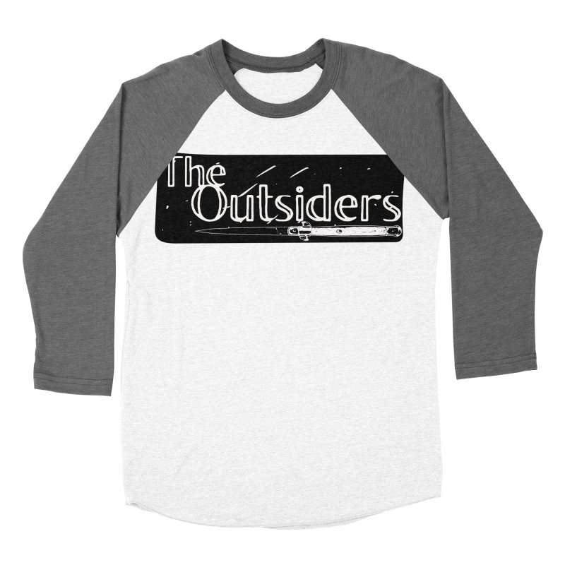 tHE oUTSIDERS Men's Baseball Triblend T-Shirt by Wild Roots Artist Shop