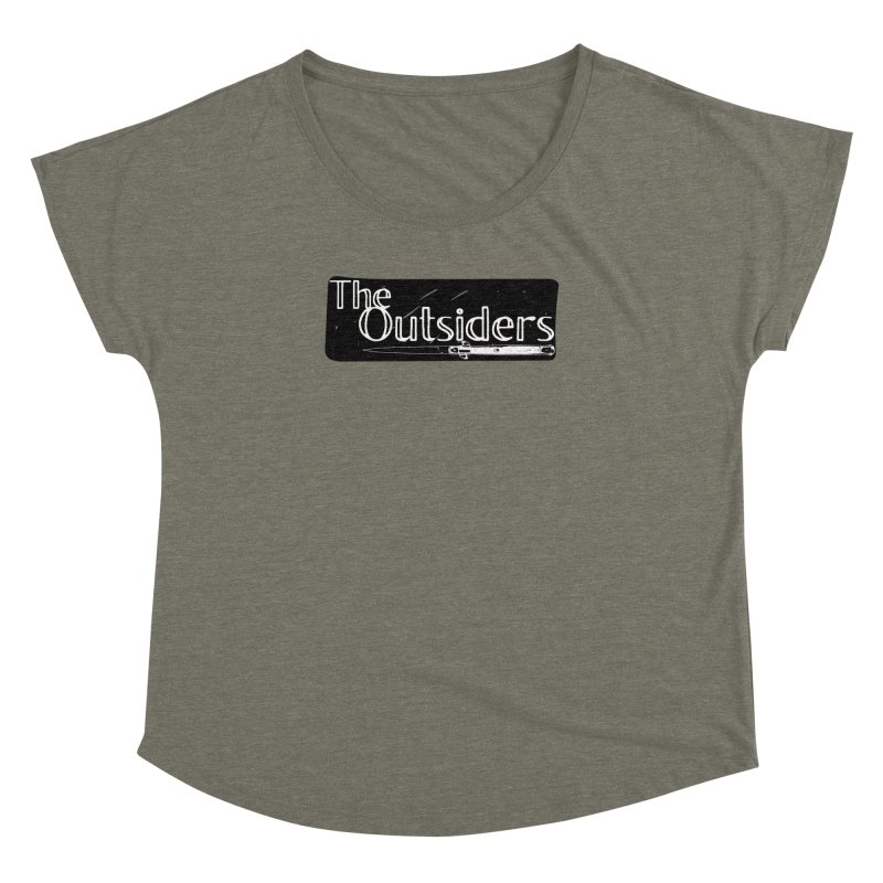 tHE oUTSIDERS Women's Dolman by Wild Roots Artist Shop