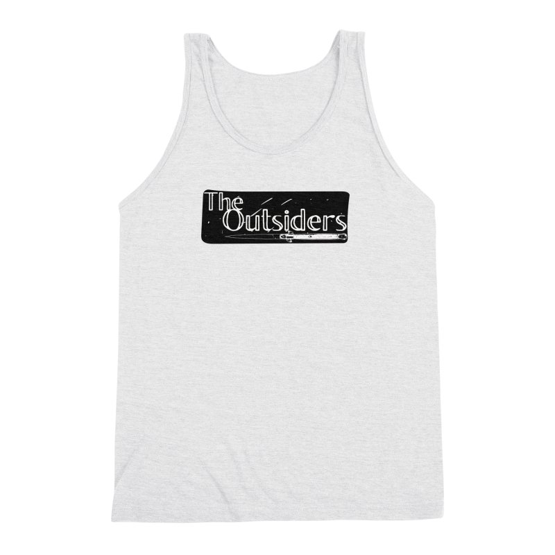 tHE oUTSIDERS Men's Triblend Tank by Wild Roots Artist Shop