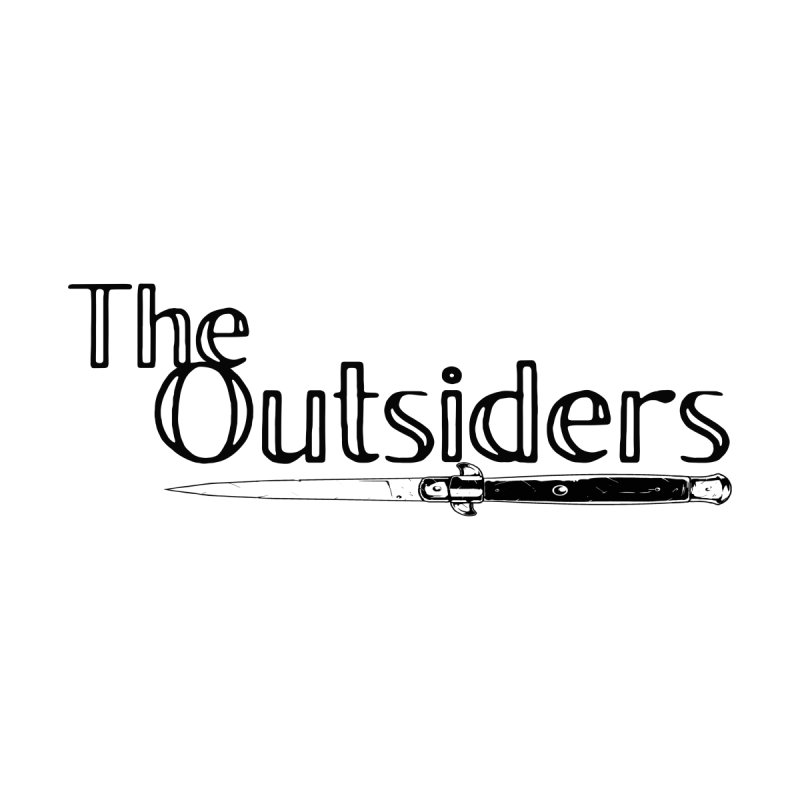 tHE oUTSIDERS (no background) Women's T-Shirt by Wild Roots Artist Shop