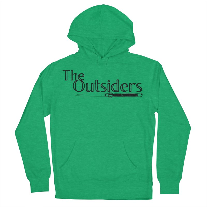 tHE oUTSIDERS (no background) Men's French Terry Pullover Hoody by Wild Roots Artist Shop
