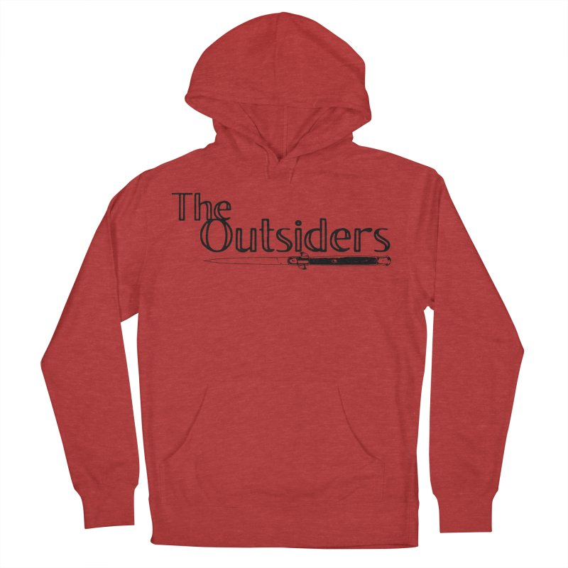 tHE oUTSIDERS (no background) Men's Pullover Hoody by Wild Roots Artist Shop