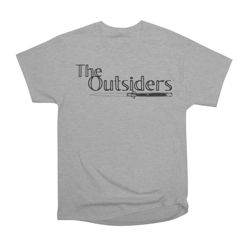 tHE oUTSIDERS (no background) Men's Heavyweight T-Shirt by Wild Roots Artist Shop