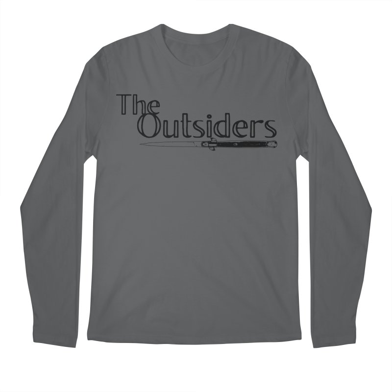 tHE oUTSIDERS (no background) Men's Regular Longsleeve T-Shirt by Wild Roots Artist Shop