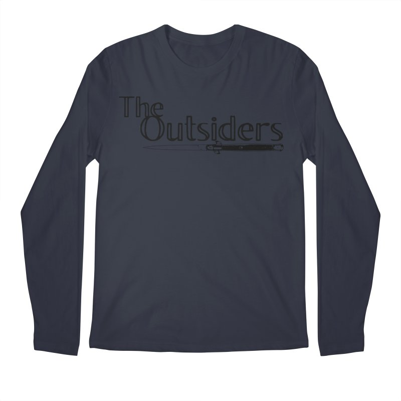 tHE oUTSIDERS (no background) Men's Longsleeve T-Shirt by Wild Roots Artist Shop