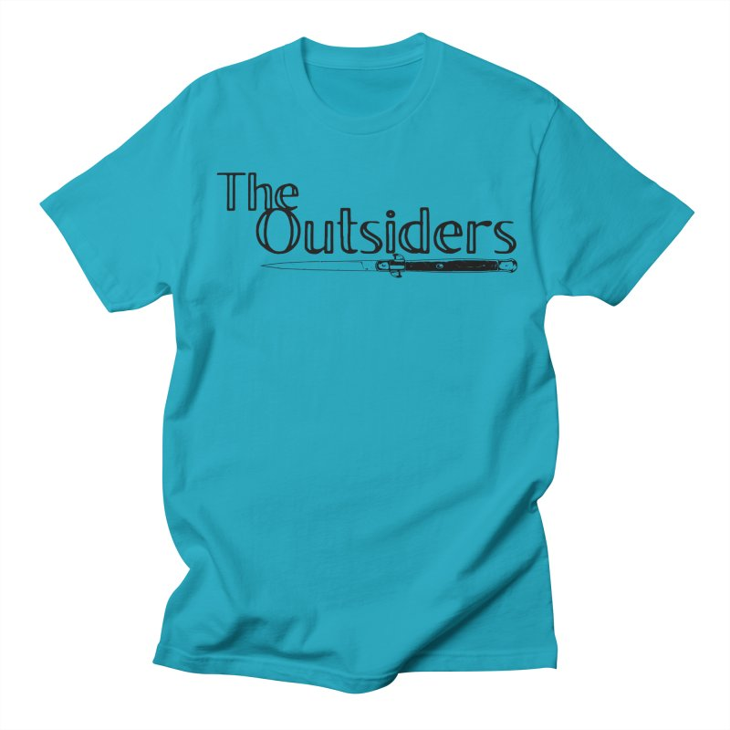 tHE oUTSIDERS (no background) Men's Regular T-Shirt by Wild Roots Artist Shop