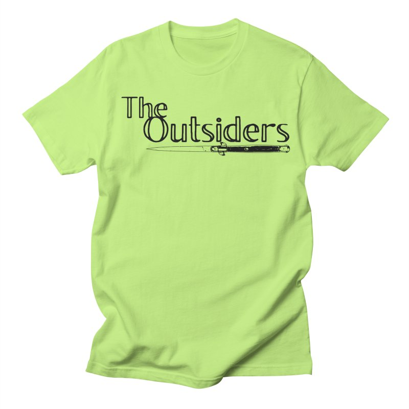 tHE oUTSIDERS (no background) Men's T-Shirt by Wild Roots Artist Shop