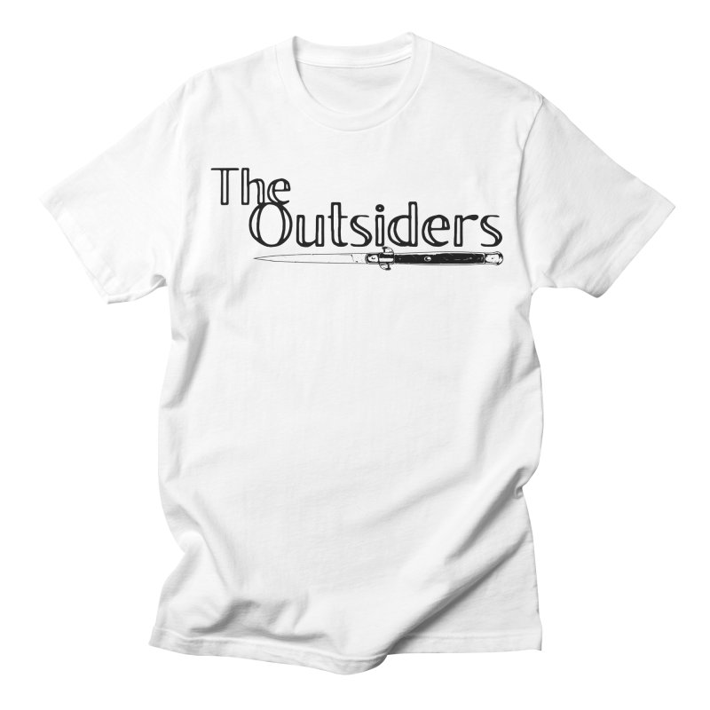tHE oUTSIDERS (no background) Women's Regular Unisex T-Shirt by Wild Roots Artist Shop