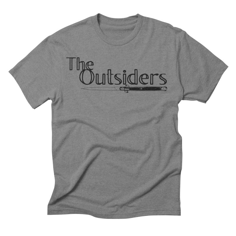 tHE oUTSIDERS (no background) Men's Triblend T-Shirt by Wild Roots Artist Shop