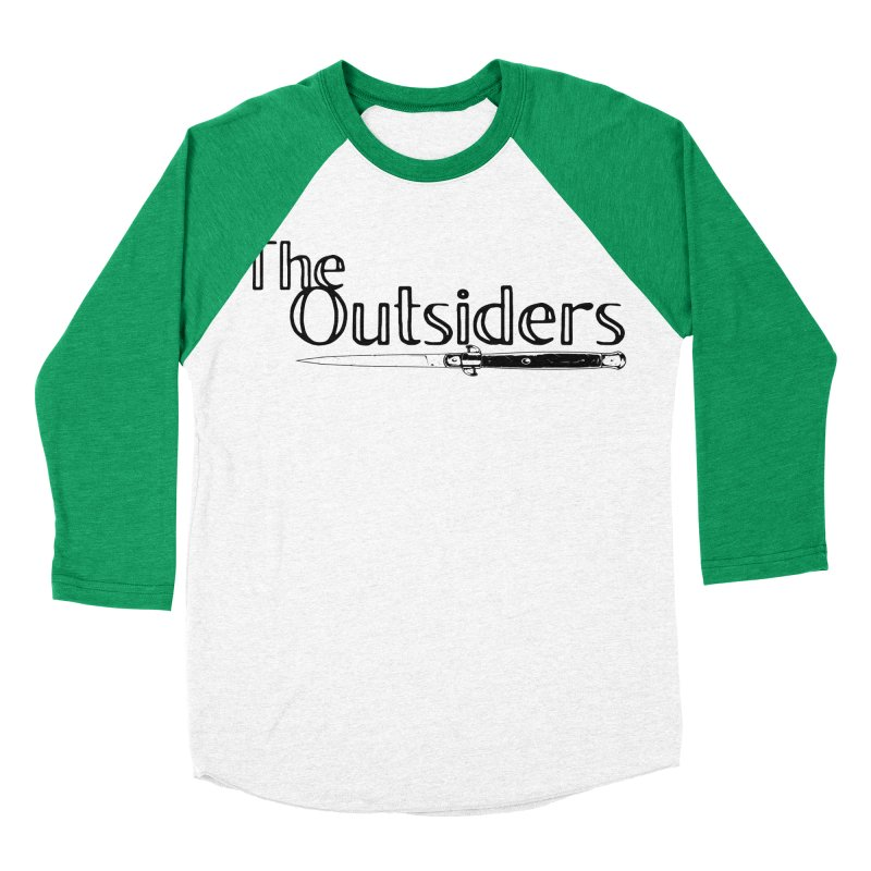 tHE oUTSIDERS (no background) Women's Baseball Triblend Longsleeve T-Shirt by Wild Roots Artist Shop