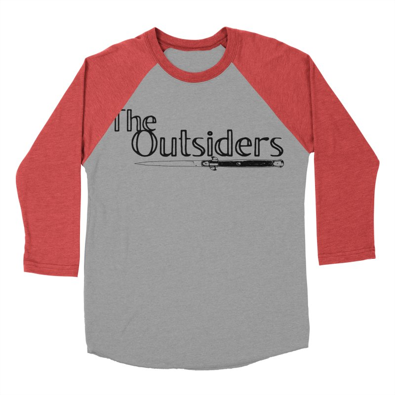 tHE oUTSIDERS (no background) Women's Baseball Triblend T-Shirt by Wild Roots Artist Shop