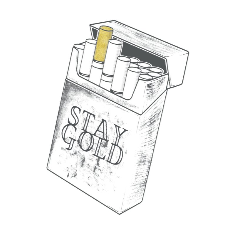 Stay Gold None  by Wild Roots Artist Shop