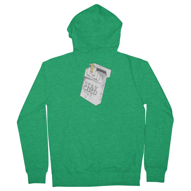 Stay Gold Women's Zip-Up Hoody by Wild Roots Artist Shop