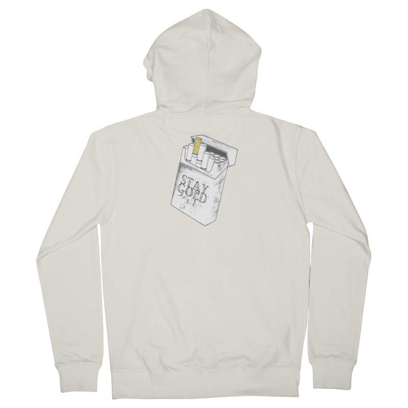 Stay Gold Men's Zip-Up Hoody by Wild Roots Artist Shop