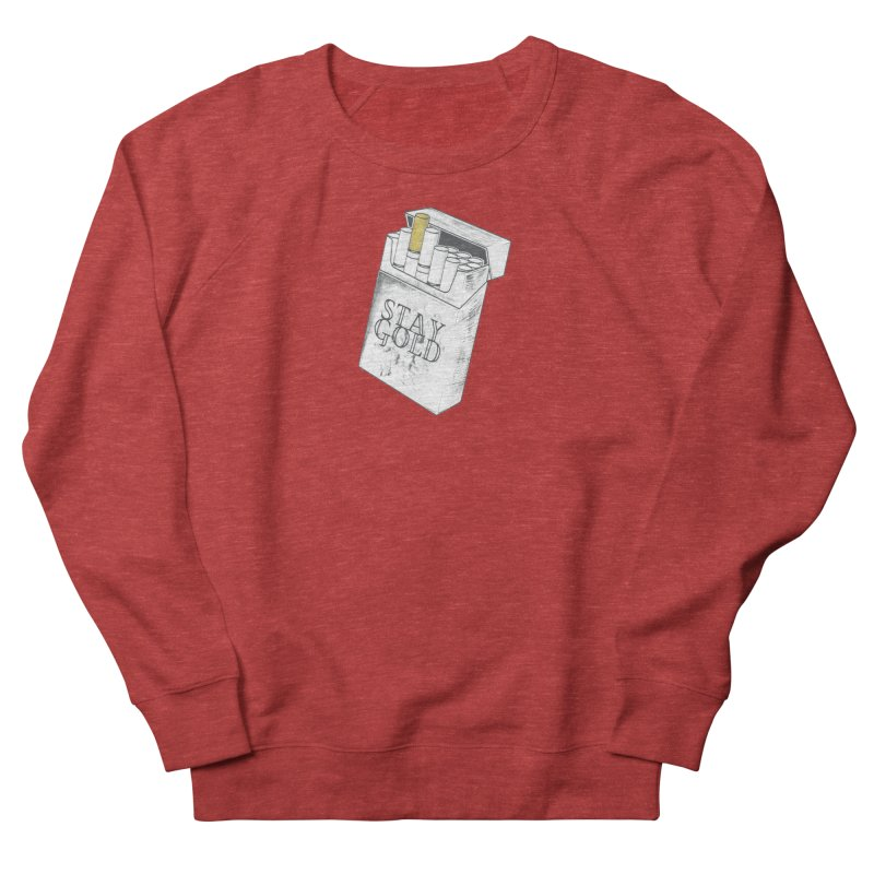 Stay Gold Women's Sweatshirt by Wild Roots Artist Shop