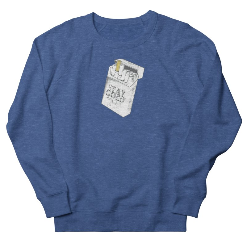 Stay Gold Men's Sweatshirt by Wild Roots Artist Shop