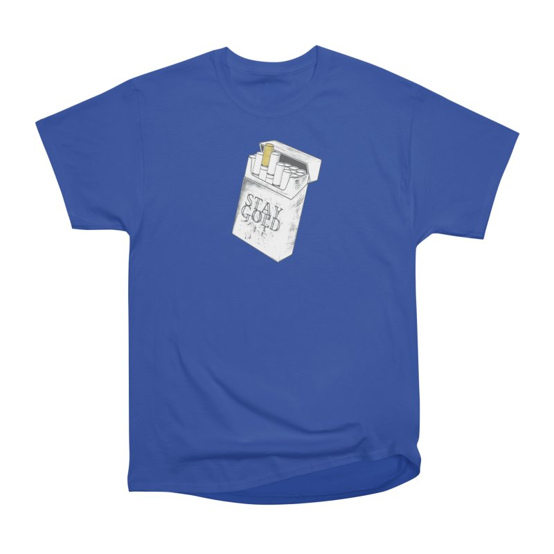 Stay Gold Women's Heavyweight Unisex T-Shirt by Wild Roots Artist Shop