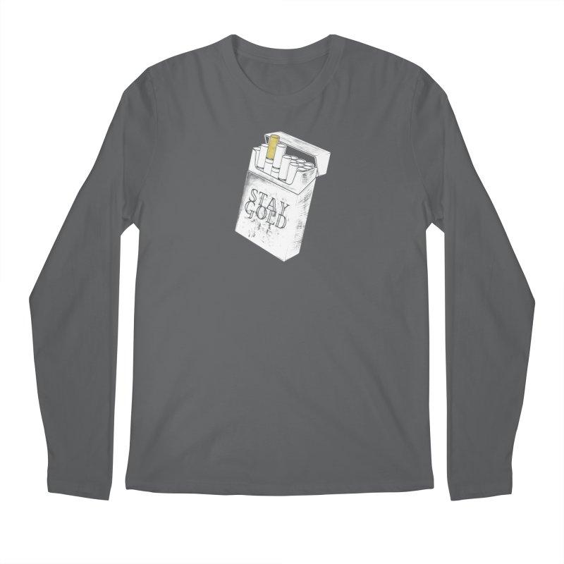 Stay Gold Men's Longsleeve T-Shirt by Wild Roots Artist Shop