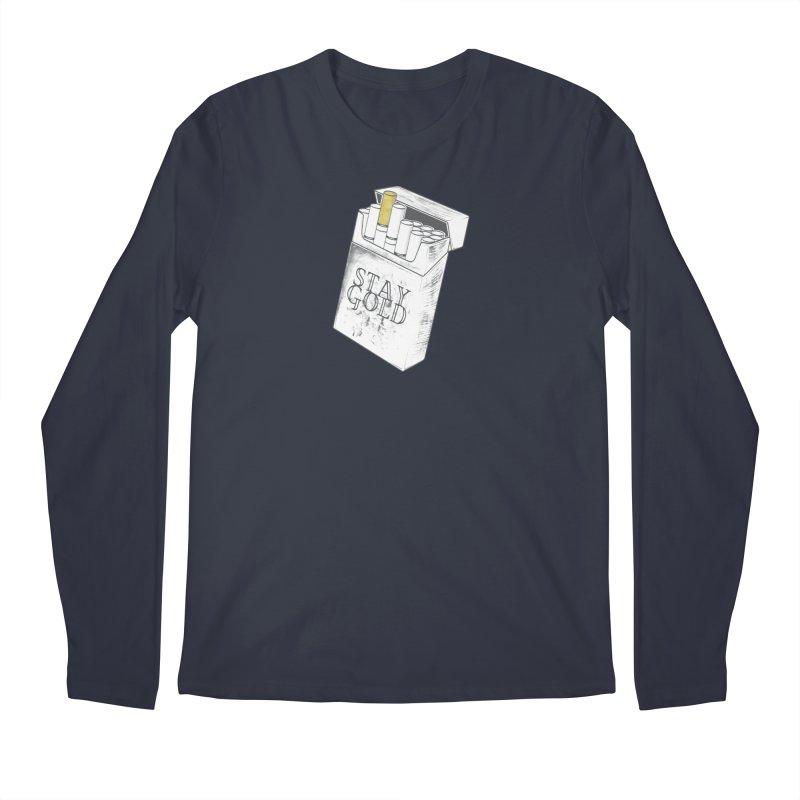 Stay Gold Men's Regular Longsleeve T-Shirt by Wild Roots Artist Shop