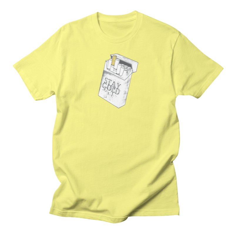 Stay Gold Men's T-Shirt by Wild Roots Artist Shop