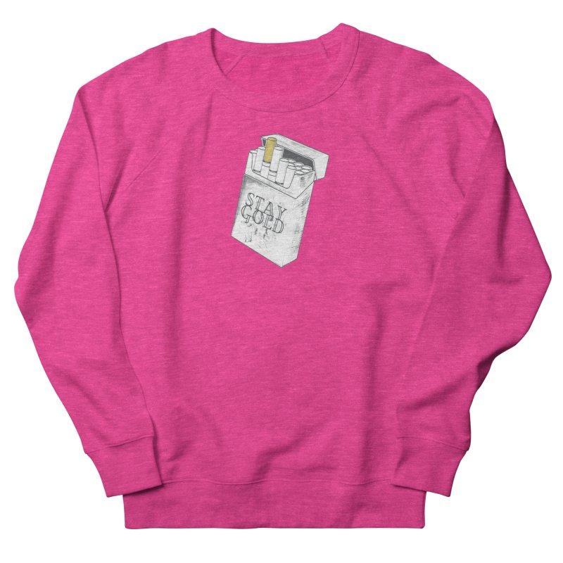 Stay Gold Women's Sweatshirt by Wild Roots Artist Shop