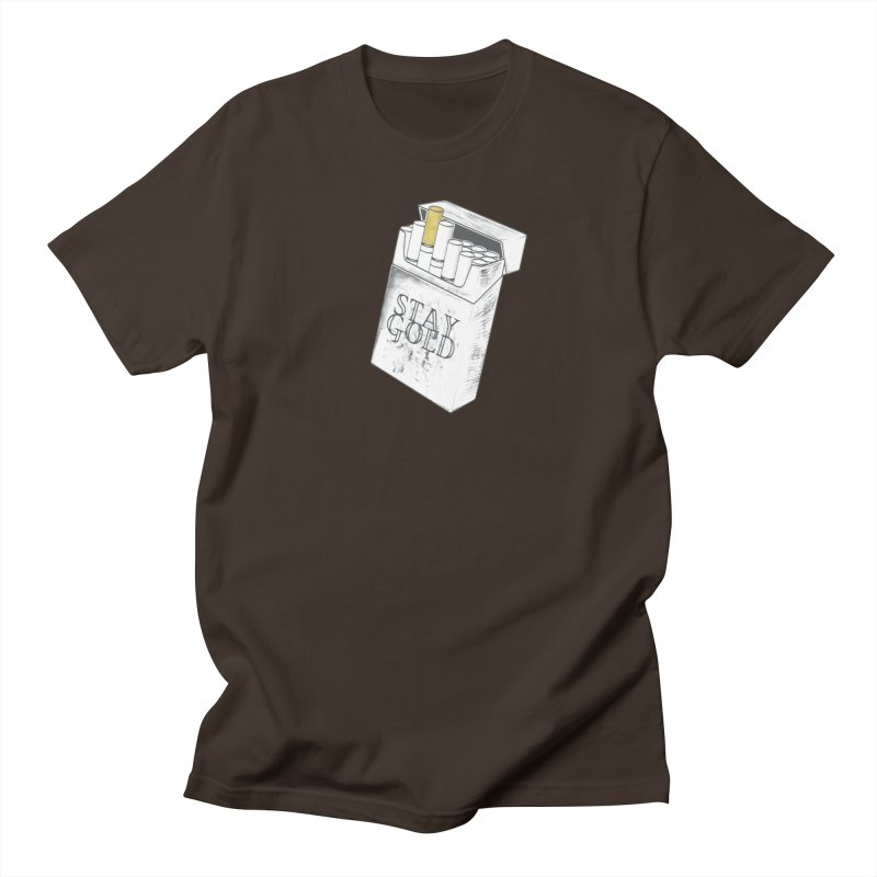 Stay Gold Men's Regular T-Shirt by Wild Roots Artist Shop