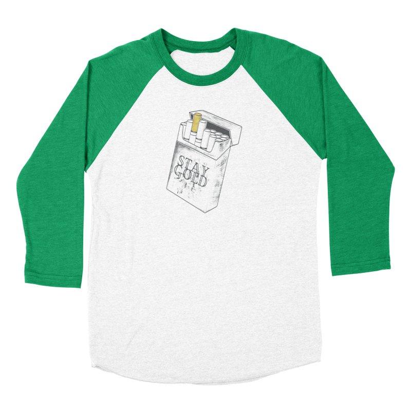 Stay Gold Men's Baseball Triblend T-Shirt by Wild Roots Artist Shop