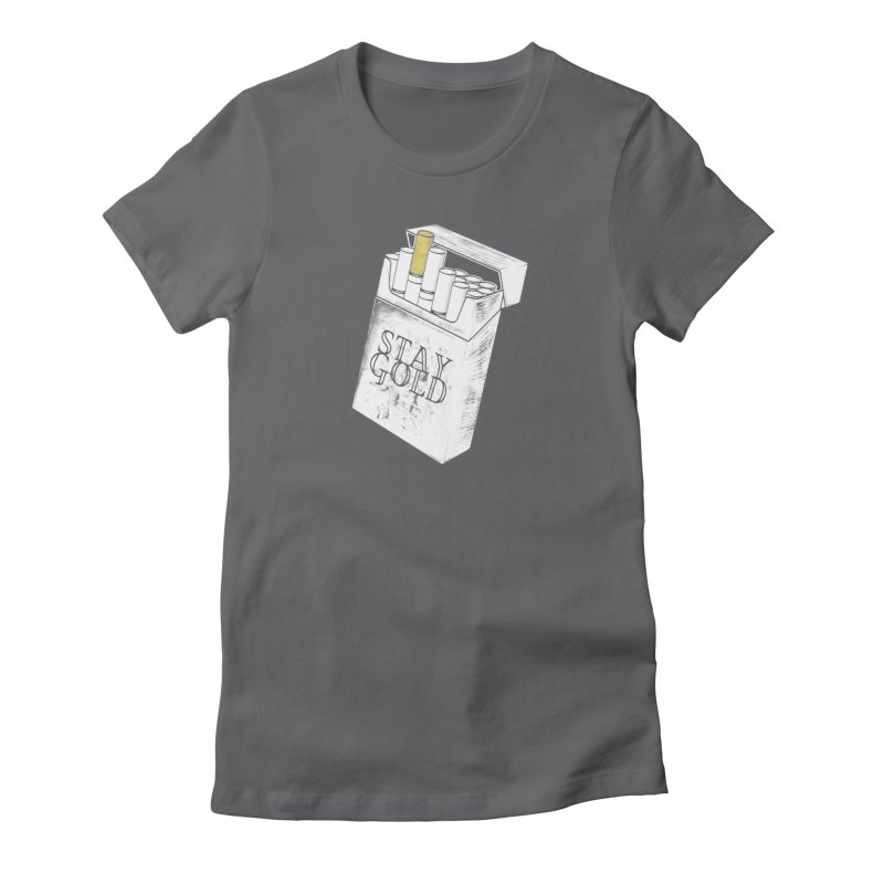 Stay Gold Women's T-Shirt by Wild Roots Artist Shop