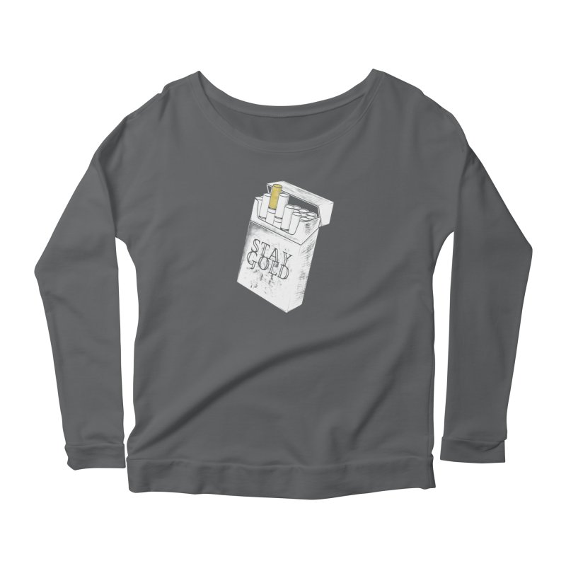 Stay Gold Women's Longsleeve T-Shirt by Wild Roots Artist Shop
