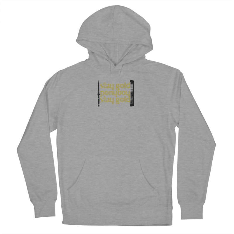 Stay Gold Ponyboy Stay Gold Women's French Terry Pullover Hoody by Wild Roots Artist Shop