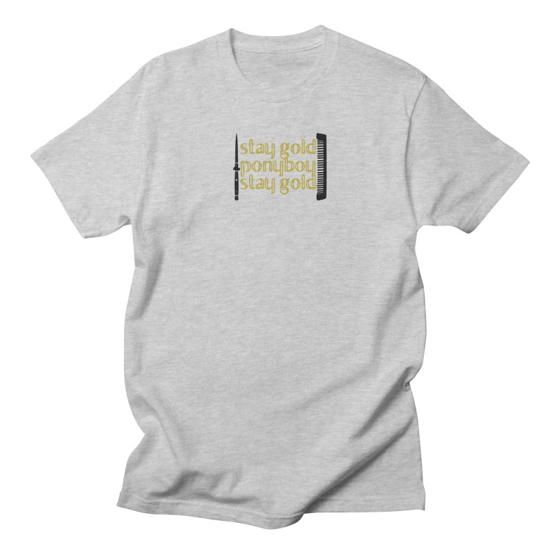 Stay Gold Ponyboy Stay Gold Men's Regular T-Shirt by Wild Roots Artist Shop