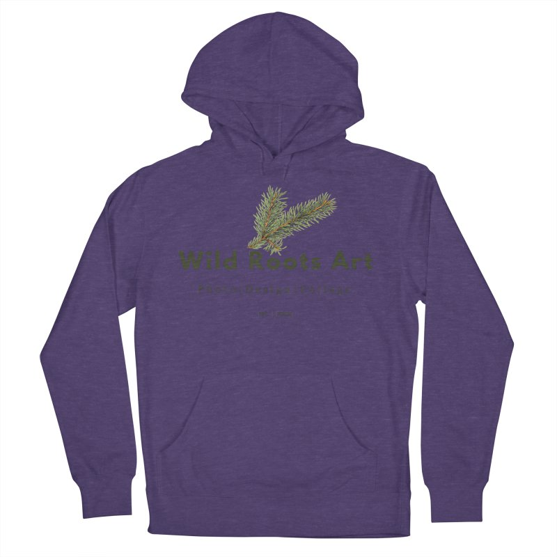 Wild Roots Logo Women's Pullover Hoody by Wild Roots Artist Shop