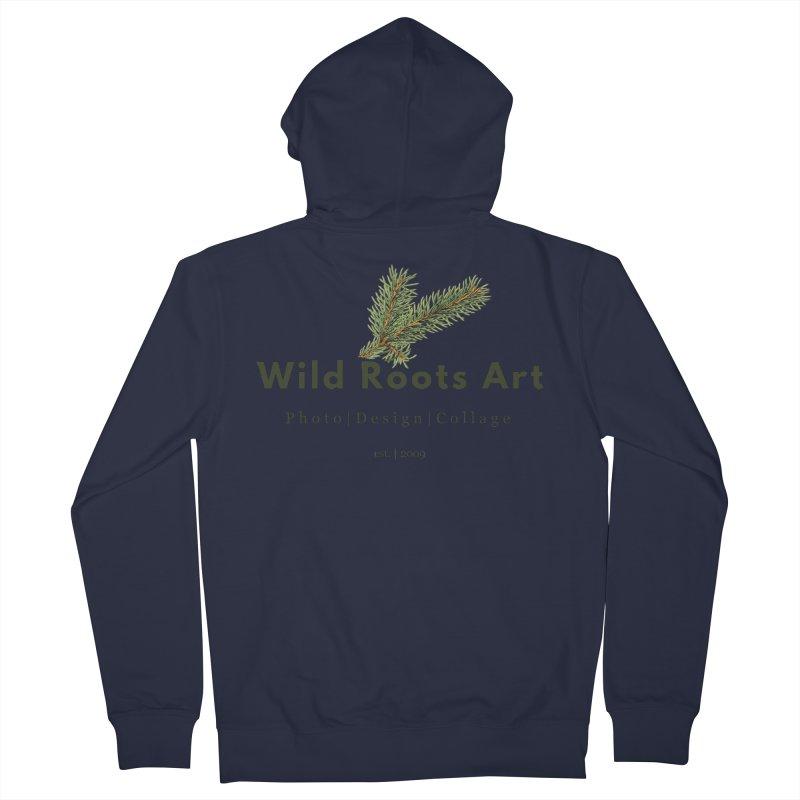 Wild Roots Logo Women's Zip-Up Hoody by Wild Roots Artist Shop