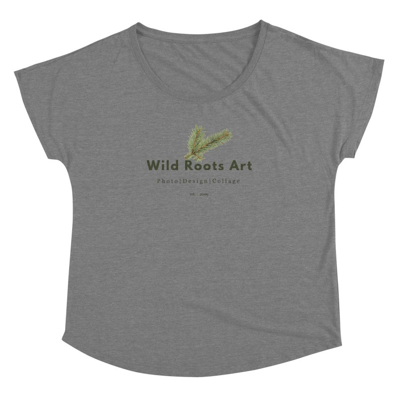 Wild Roots Logo Women's  by Wild Roots Artist Shop