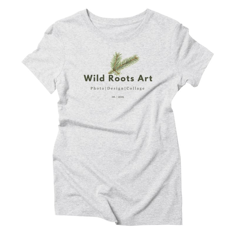 Wild Roots Logo Women's Triblend T-Shirt by Wild Roots Artist Shop