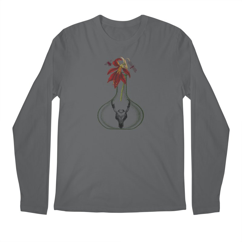 Apothecary Jar Men's Longsleeve T-Shirt by Wild Roots Artist Shop