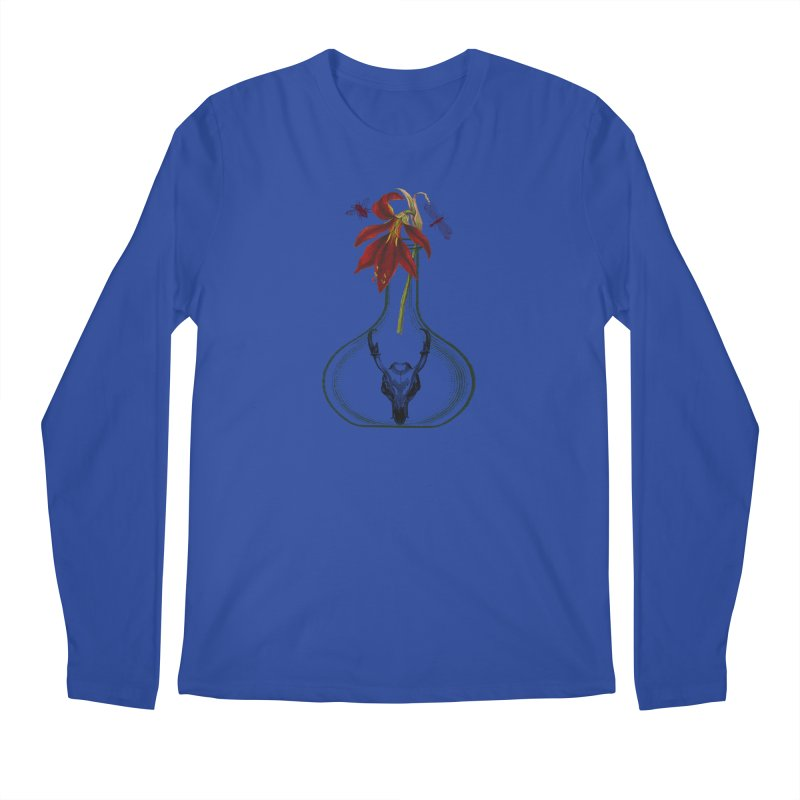 Apothecary Jar Men's Regular Longsleeve T-Shirt by Wild Roots Artist Shop