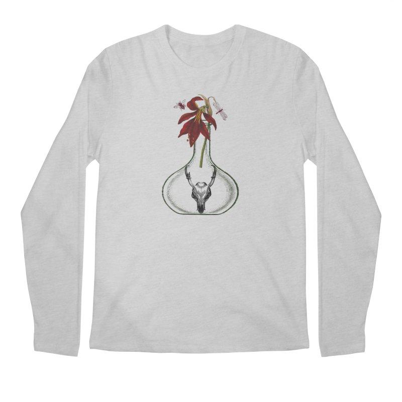 Apothecary Jar Men's Regular Longsleeve T-Shirt by Wild Roots Artist Shop