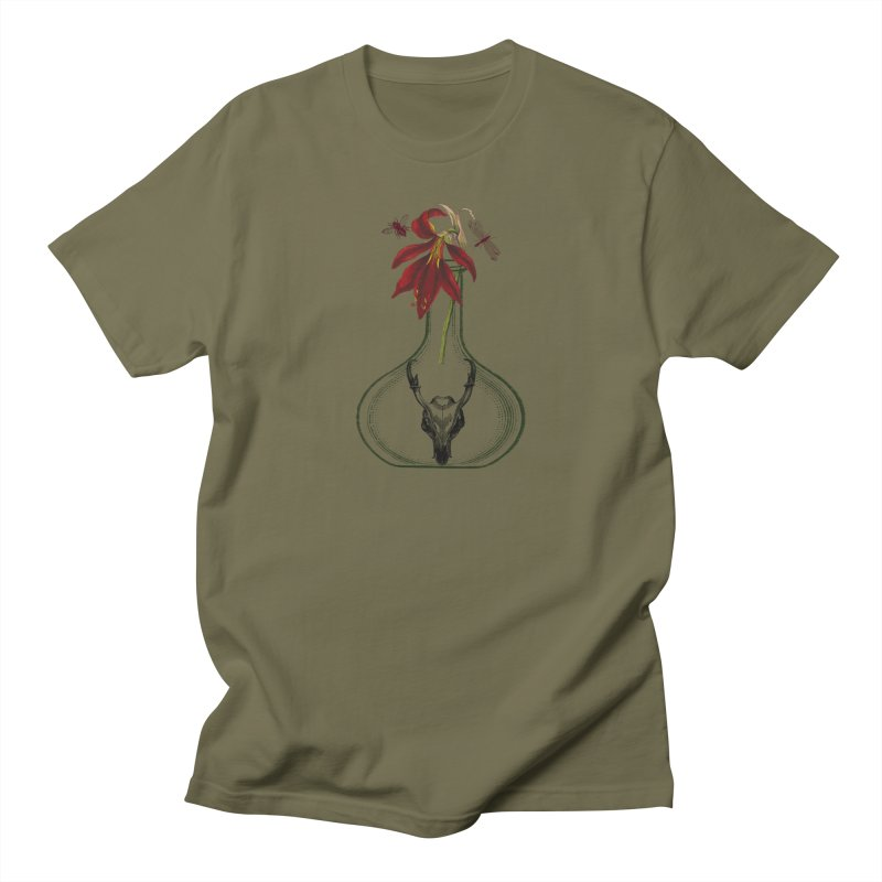 Apothecary Jar Men's T-Shirt by Wild Roots Artist Shop