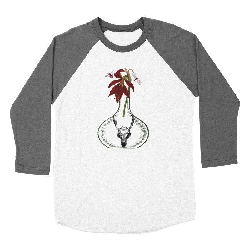 Apothecary Jar Men's Baseball Triblend Longsleeve T-Shirt by Wild Roots Artist Shop