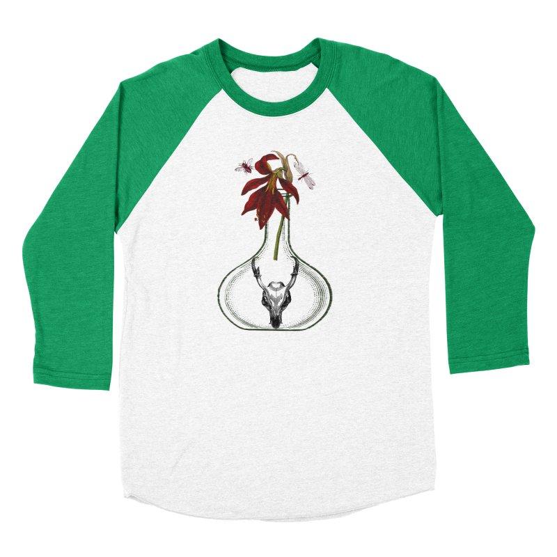 Apothecary Jar Men's Baseball Triblend Longsleeve T-Shirt by Wild Roots Artist Shop