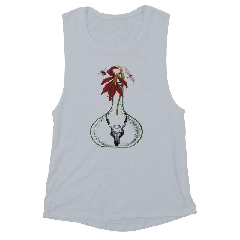 Apothecary Jar Women's Muscle Tank by Wild Roots Artist Shop