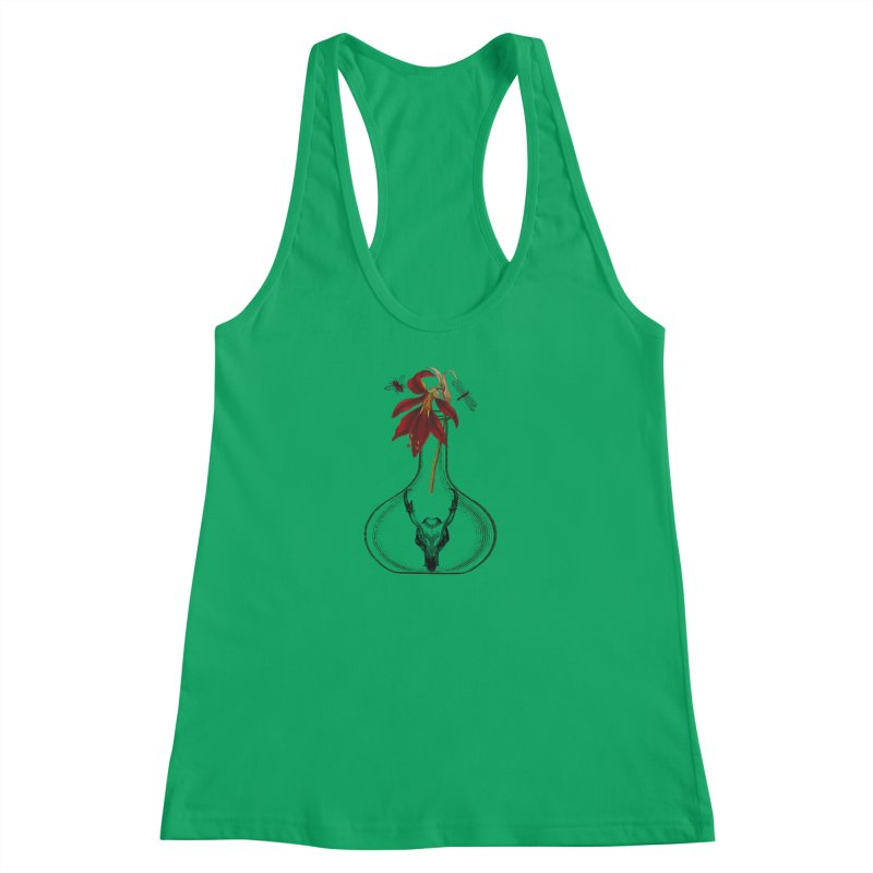 Apothecary Jar Women's Racerback Tank by Wild Roots Artist Shop