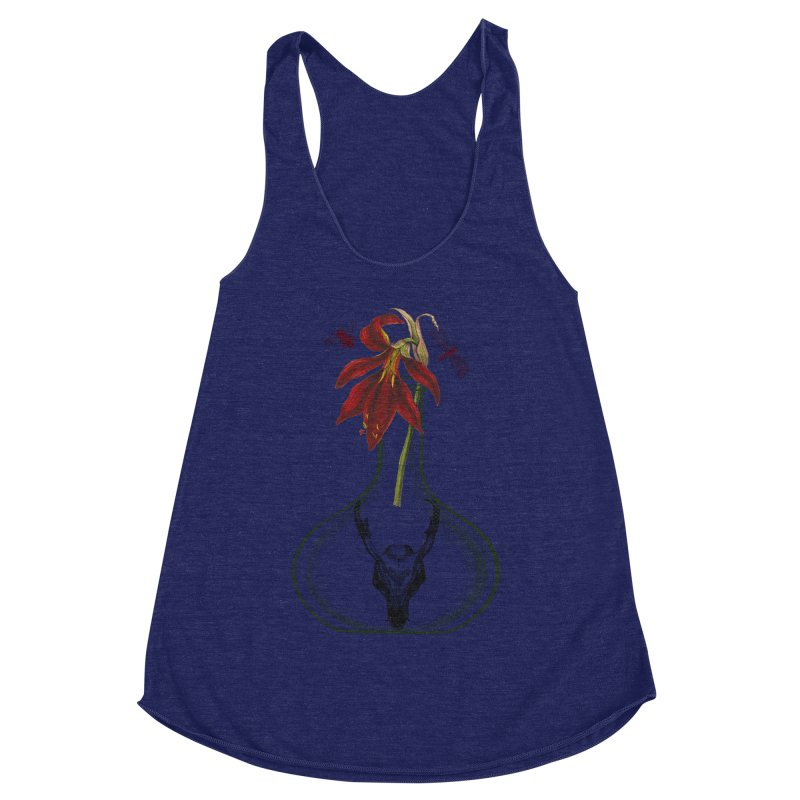 Apothecary Jar Women's Racerback Triblend Tank by Wild Roots Artist Shop