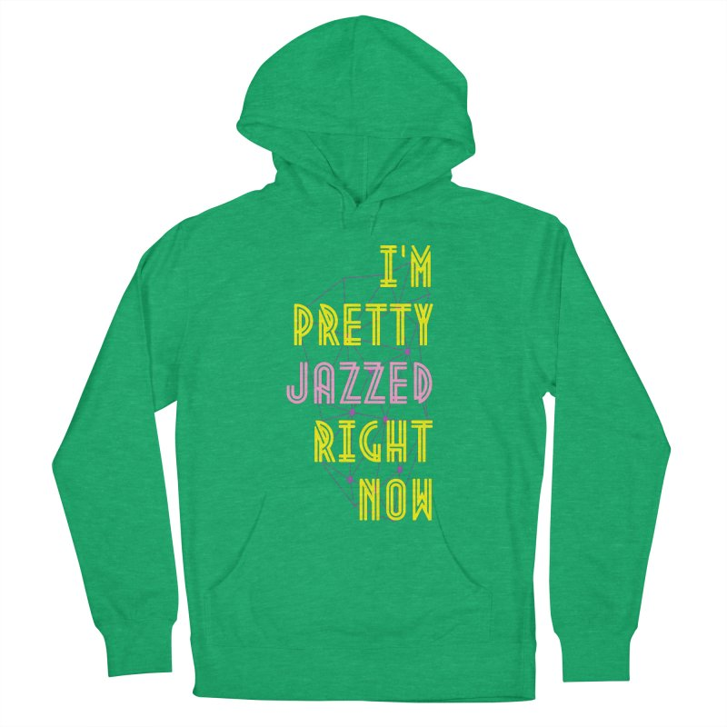 Jazzed Men's Pullover Hoody by Wild Roots Artist Shop
