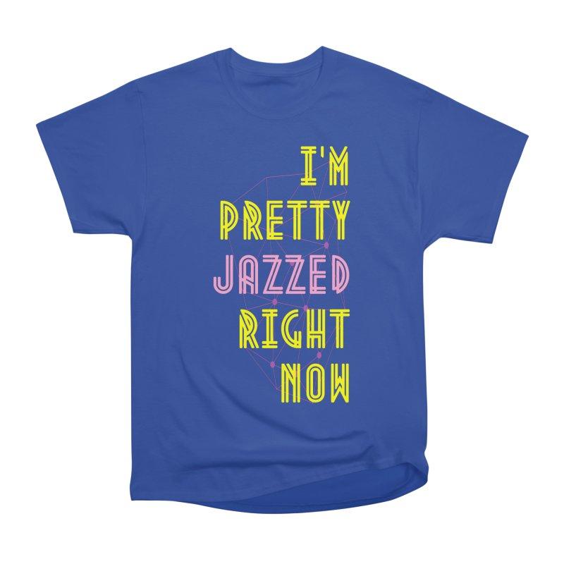 Jazzed Men's Heavyweight T-Shirt by Wild Roots Artist Shop