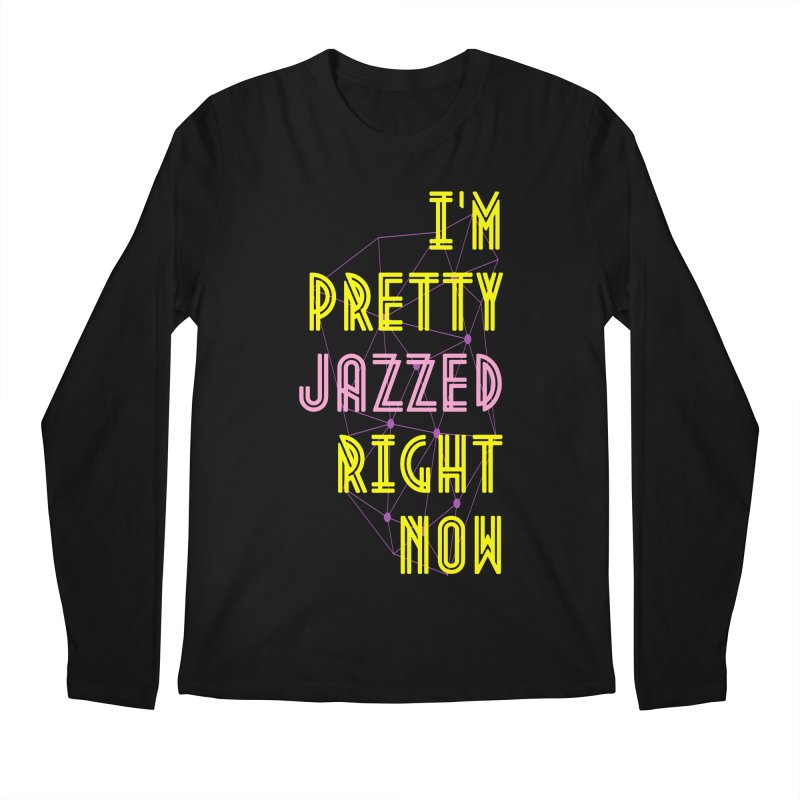 Jazzed Men's Longsleeve T-Shirt by Wild Roots Artist Shop